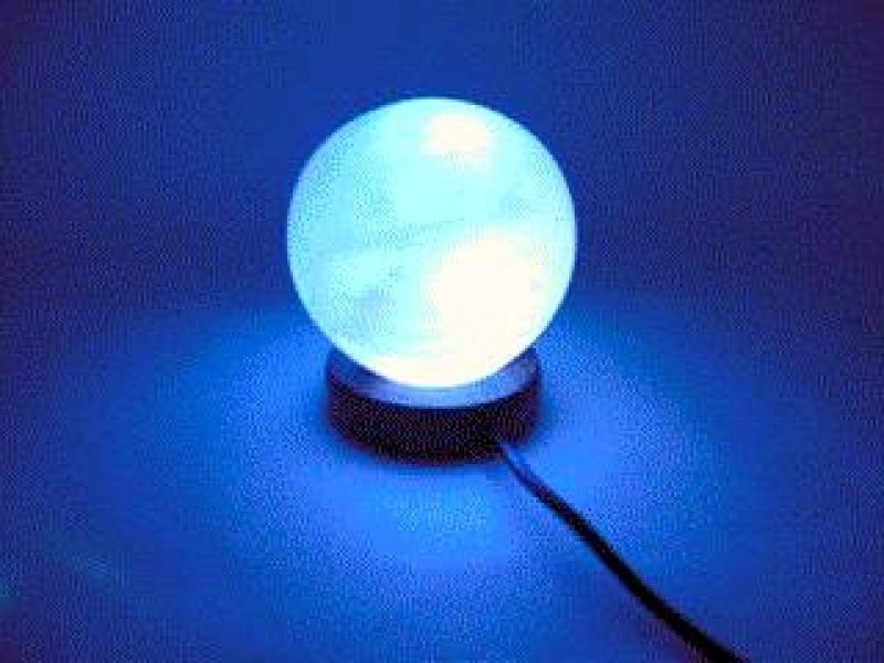 Фото - Соляная лампа USB ШАР (10Х8Х8 см) купить в киеве на подарок, цена, отзывы
