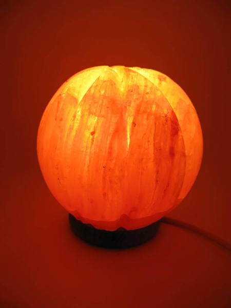 Фото - Соляная лампа апельсин (14х15 см) купить в киеве на подарок, цена, отзывы