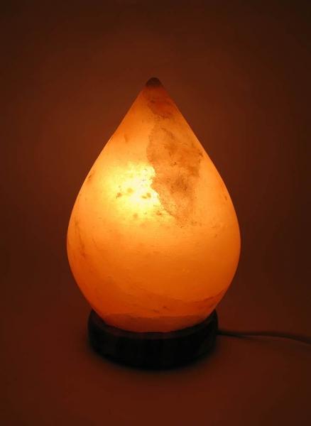 Фото - Соляная лампа капля (17Х10Х10 см) купить в киеве на подарок, цена, отзывы