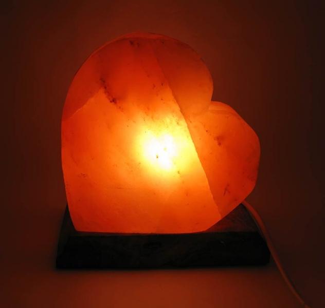 Фото - Соляная лампа сердце (18Х18Х10 см) купить в киеве на подарок, цена, отзывы