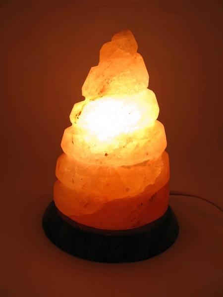 Фото - Соляная лампа спираль (17,5Х14Х14 см) купить в киеве на подарок, цена, отзывы