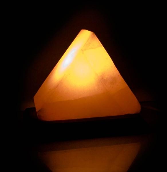 Фото - Соляная лампа треугольная  купить в киеве на подарок, цена, отзывы