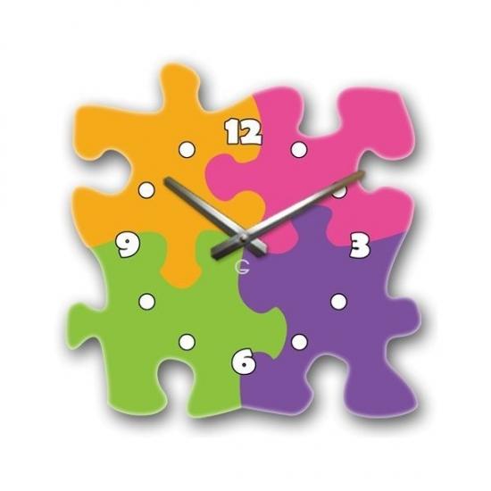 Фото - Современные настенные часы Puzzle купить в киеве на подарок, цена, отзывы