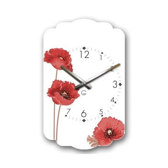 Фото - Современные настенные часы  Flowers купить в киеве на подарок, цена, отзывы