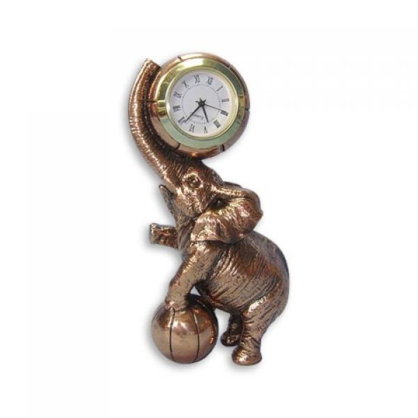 Фото - Статуэтка  слон + часы купить в киеве на подарок, цена, отзывы