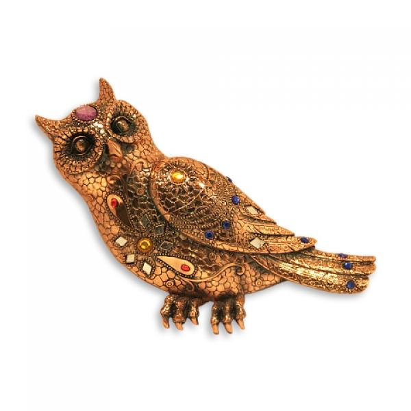 Фото - Статуэтка  сова купить в киеве на подарок, цена, отзывы