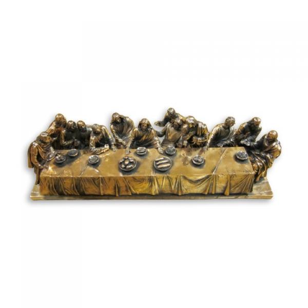 Фото - Статуэтка  тайная вечеря металлокерамика купить в киеве на подарок, цена, отзывы