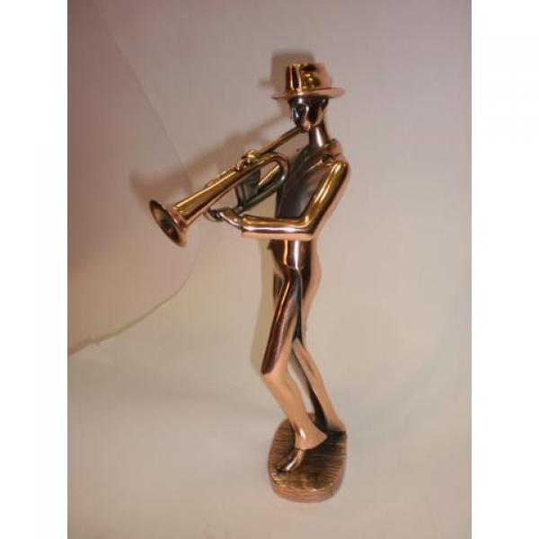 Фото - Статуэтка  трубач купить в киеве на подарок, цена, отзывы