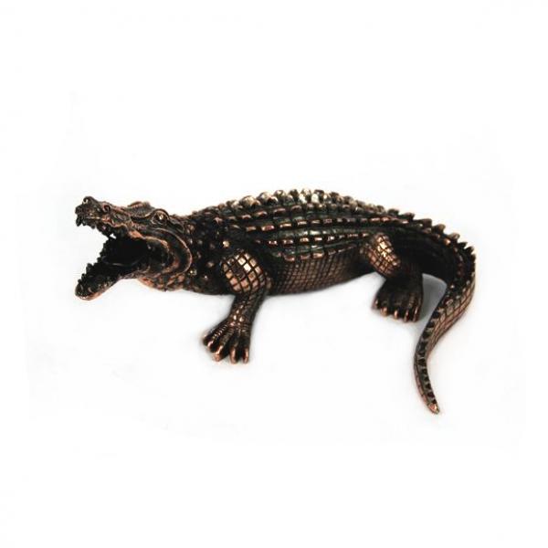 Фото - Статуэтка крокодил купить в киеве на подарок, цена, отзывы
