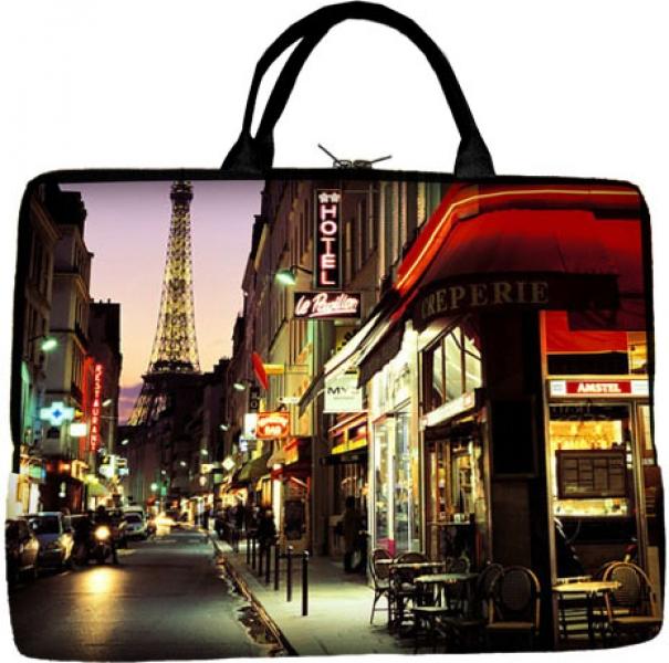 Фото - Сумка для ноутбука Париж купить в киеве на подарок, цена, отзывы