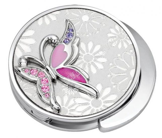 Фото - Сумкодержатель Сиреневая бабочка купить в киеве на подарок, цена, отзывы