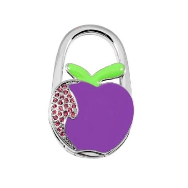 Фото - Сумкодержатель  яблоко фиолетовое  купить в киеве на подарок, цена, отзывы