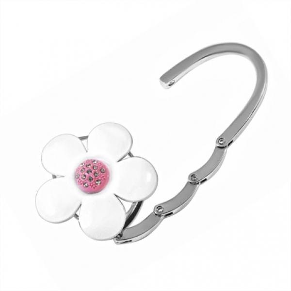 Фото - Сумкодержатель белый цветок купить в киеве на подарок, цена, отзывы