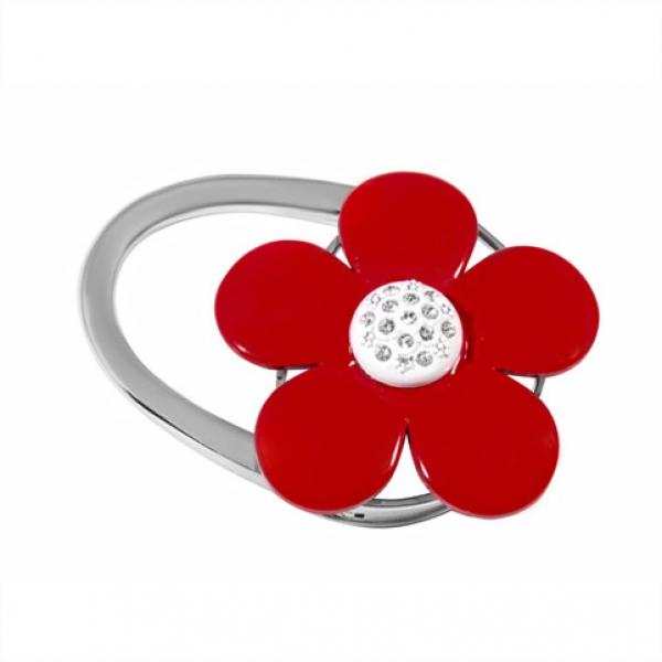 Фото - Сумкодержатель красный цветок купить в киеве на подарок, цена, отзывы