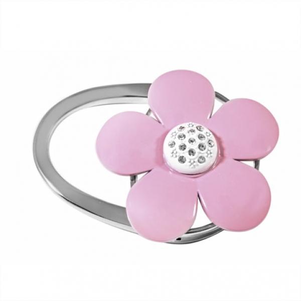 Фото - Сумкодержатель розовый цветок купить в киеве на подарок, цена, отзывы