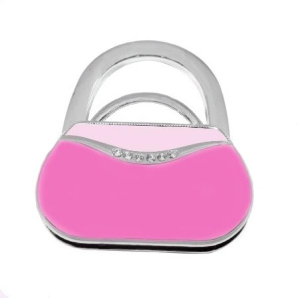 Фото - Сумкодержатель сумочка тёмно-розовая купить в киеве на подарок, цена, отзывы