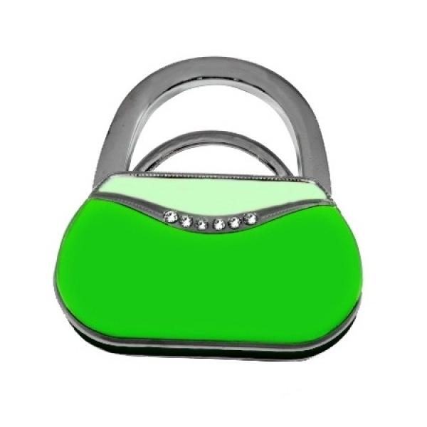 Фото - Сумкодержатель сумочка зелёная купить в киеве на подарок, цена, отзывы