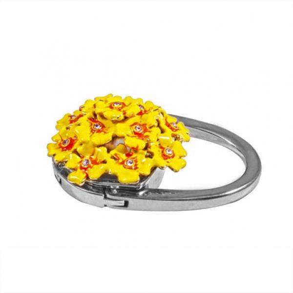 Фото - Сумкодержатель ярко желтый букет купить в киеве на подарок, цена, отзывы