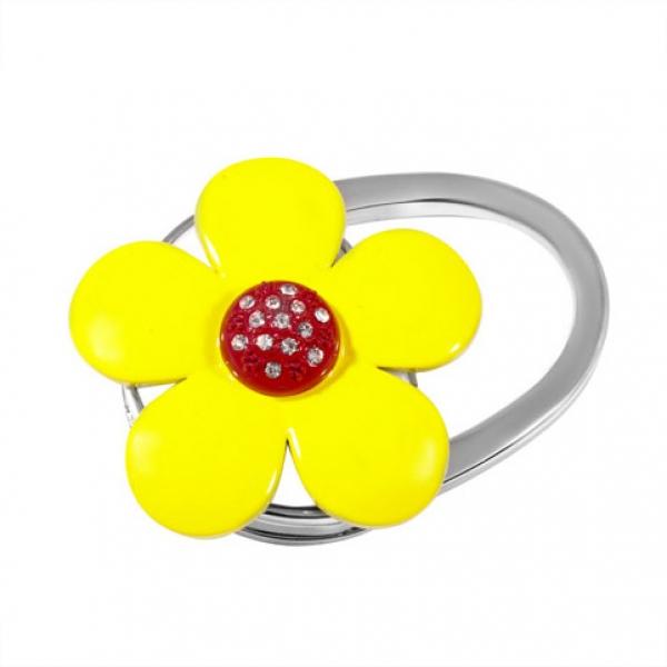 Фото - Сумкодержатель желтый цветок купить в киеве на подарок, цена, отзывы