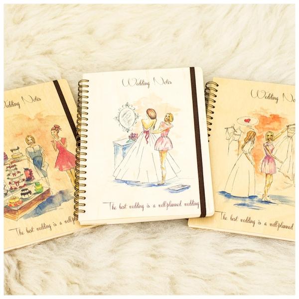 Фото - Свадебный блокнот в стиле Рустик купить в киеве на подарок, цена, отзывы