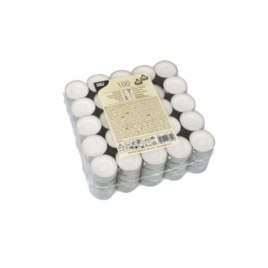 Фото - Свечи чайные таблетка 100шт купить в киеве на подарок, цена, отзывы