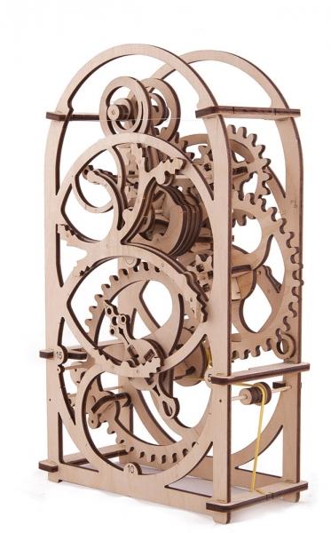 Фото - Таймер механический 3д пазл(деревянный)   купить в киеве на подарок, цена, отзывы