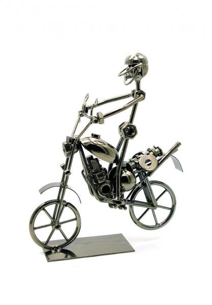 Фото - Техно-арт байкер маленький 24Х22Х9 см купить в киеве на подарок, цена, отзывы