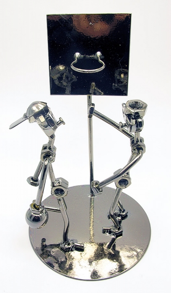 Фото - Техно арт баскетболисты металл 23Х14,5Х14,5 см купить в киеве на подарок, цена, отзывы