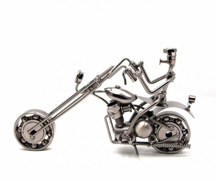 Фото - Техно арт байкер металл 22,5Х13Х6 см купить в киеве на подарок, цена, отзывы
