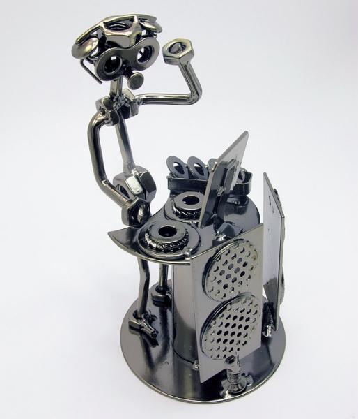 Фото - Техно арт диджей металл 19Х10,5Х11 см купить в киеве на подарок, цена, отзывы