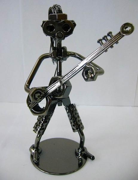 Фото - Техно арт гитарист металл 18Х11Х7 см купить в киеве на подарок, цена, отзывы