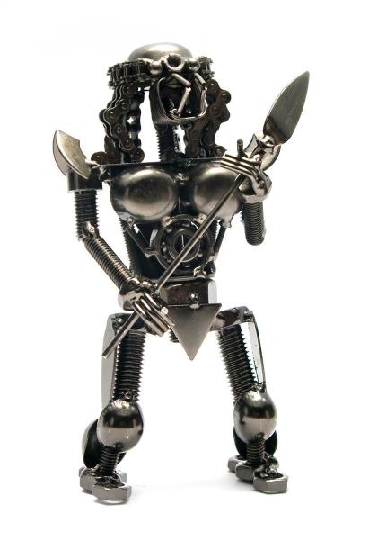 Фото - Техно арт хищник металл 17Х8,5 Х 6 см купить в киеве на подарок, цена, отзывы