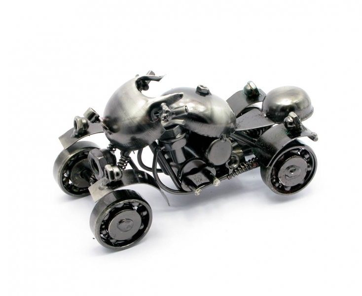Фото - Техно арт квадроцикл метал 14,5Х8,5Х7,5 см купить в киеве на подарок, цена, отзывы
