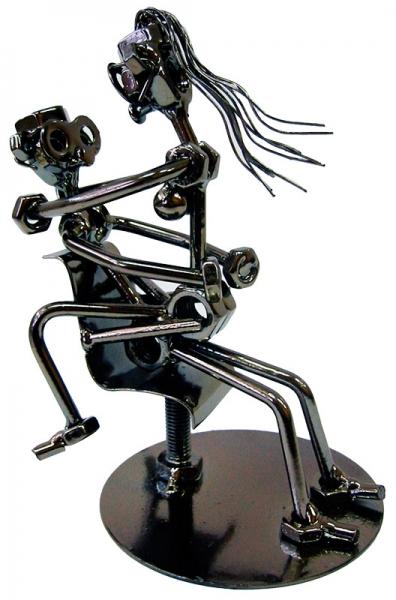 Фото - Техно арт любовь в офисе металл 18Х13Х10 см купить в киеве на подарок, цена, отзывы