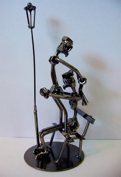 Фото - Техно арт любовь в парке металл 27,5Х11Х11 см купить в киеве на подарок, цена, отзывы