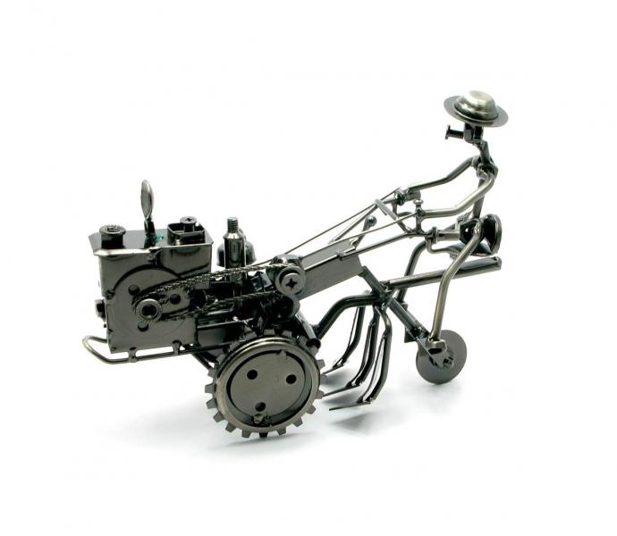 Фото - Техно арт пахарь метал 21Х15,5Х7,5 см купить в киеве на подарок, цена, отзывы