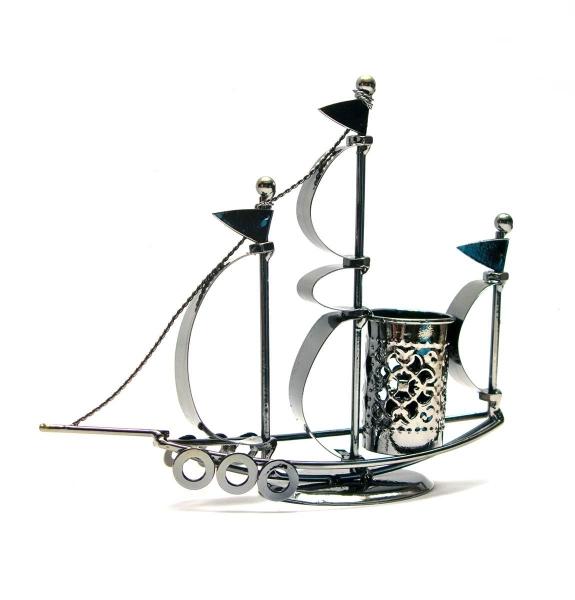 Фото - Техно арт подставка для парусник металл 17,5Х20,5Х5 см купить в киеве на подарок, цена, отзывы