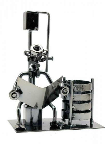 Фото - Техно арт подставка для ручек читатель металл 17,5Х13Х8 см купить в киеве на подарок, цена, отзывы