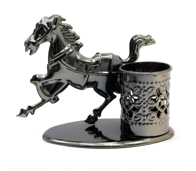 Фото - Техно арт подставка под ручки лошадь 11Х12Х6,5 см купить в киеве на подарок, цена, отзывы