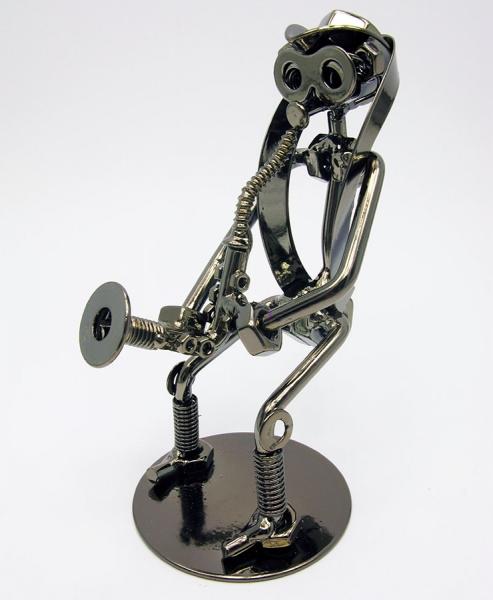 Фото - Техно арт саксофонист металл 16,5Х9Х7 см купить в киеве на подарок, цена, отзывы
