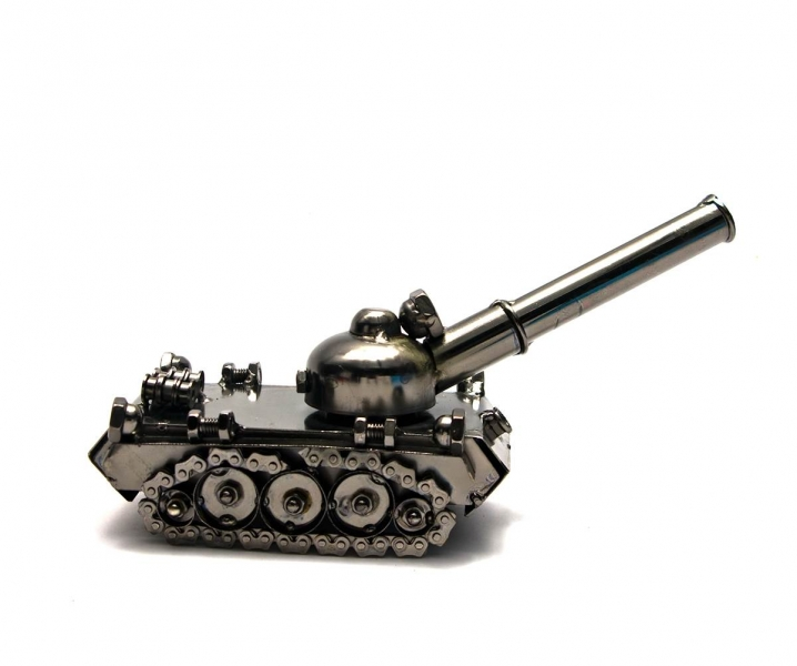 Фото - Техно арт танк металл 11Х23Х8,5 см купить в киеве на подарок, цена, отзывы