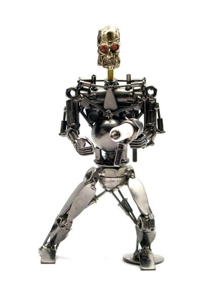 Фото - Техно арт терминатор металл 19Х11Х7 см купить в киеве на подарок, цена, отзывы