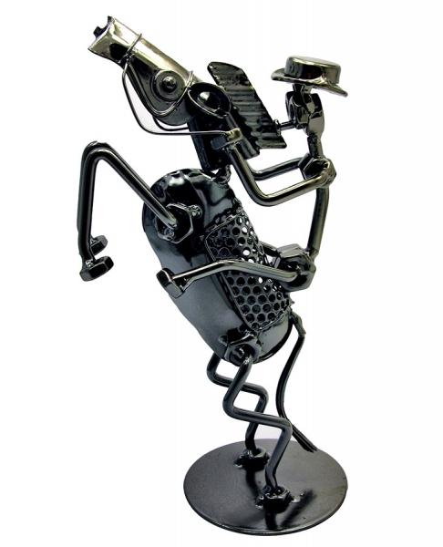 Фото - Техно арт всадник большой металл 25Х11,5Х8,5 см купить в киеве на подарок, цена, отзывы
