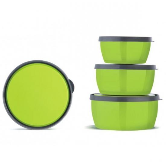 Фото - Термосудочки для еды ланч-бокс 3 шт купить в киеве на подарок, цена, отзывы