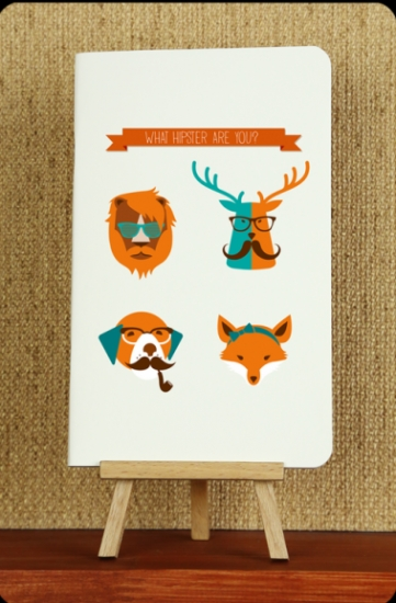 Фото - Тетрадь Hipster animals купить в киеве на подарок, цена, отзывы
