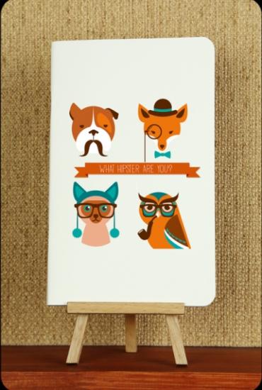 Фото - Тетрадь Hipster animals 2 купить в киеве на подарок, цена, отзывы