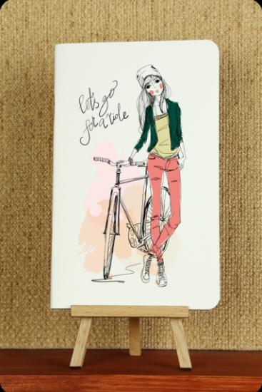 Фото - Тетрадь На велосипеде купить в киеве на подарок, цена, отзывы