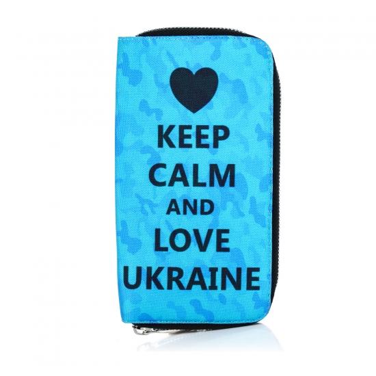 Фото - Тканевый кошелек Keep calm купить в киеве на подарок, цена, отзывы