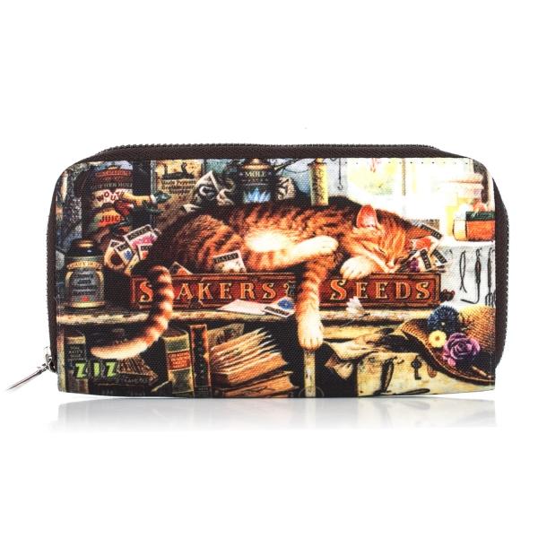 Фото - Тканевый кошелек Кот с книжками купить в киеве на подарок, цена, отзывы