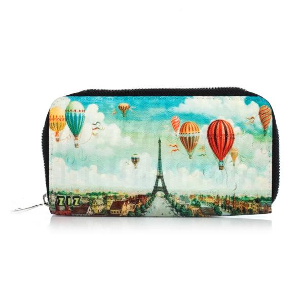 Фото - Тканевый кошелек Париж купить в киеве на подарок, цена, отзывы
